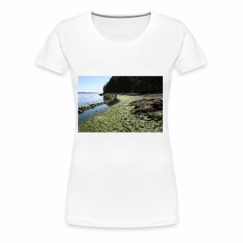 Russell Island Clam Garden - Women's Premium T-Shirt