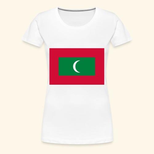 Flag of Maldives - Women's Premium T-Shirt