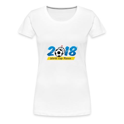 Playeras para el mundial 2018 Rusia - Women's Premium T-Shirt