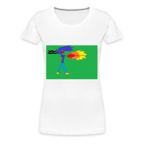 blazing_sky_katana - Women's Premium T-Shirt