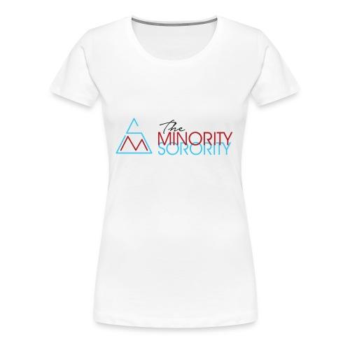 The Minority Sorority Logo - Women's Premium T-Shirt