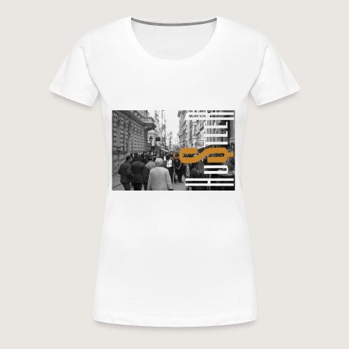 City of Hustle - Women's Premium T-Shirt