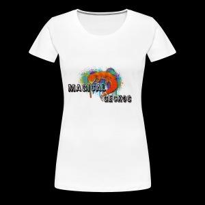 Magical Geckos Paint scheme - Women's Premium T-Shirt