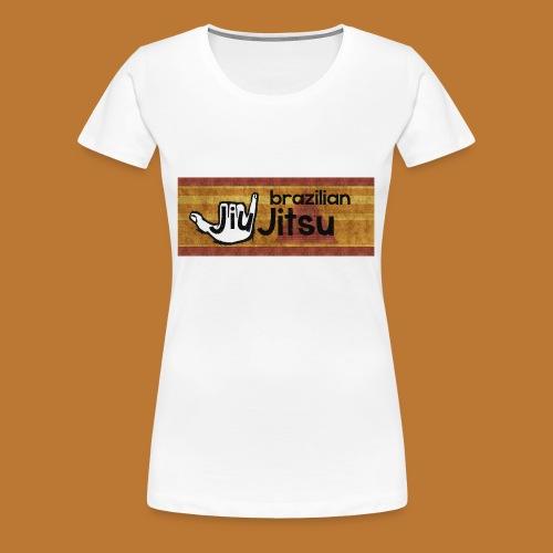 Hang Loose Jiu Jitsu - Women's Premium T-Shirt