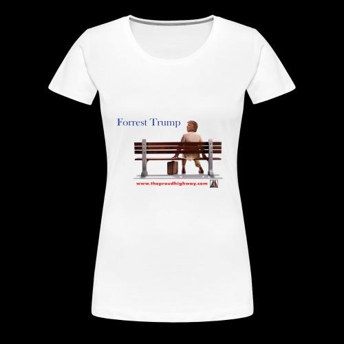 Forrest Trump - Women's Premium T-Shirt