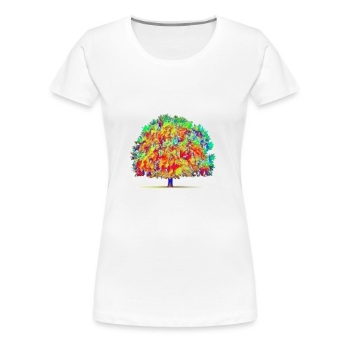 colorful tree - Women's Premium T-Shirt