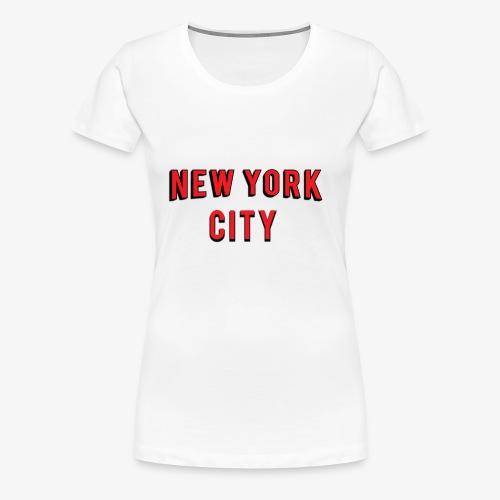 NEW YORK CITY Netflix T-shirt - Women's Premium T-Shirt