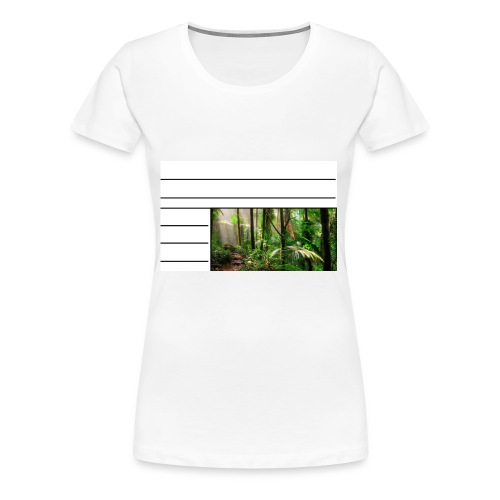 rainforest - Women's Premium T-Shirt