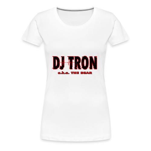 DJ tron logo 2 - Women's Premium T-Shirt