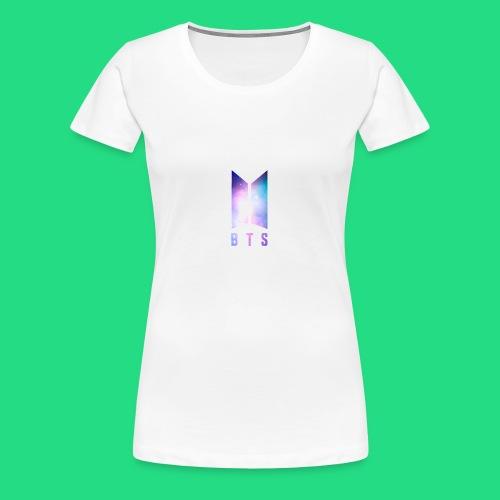 Galaxy BTS Bangtan Sonyeondan Logo - Women's Premium T-Shirt