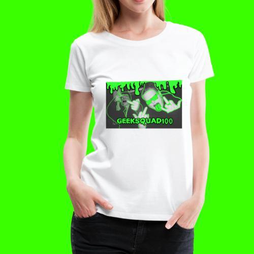 Geeksquad100 - Women's Premium T-Shirt