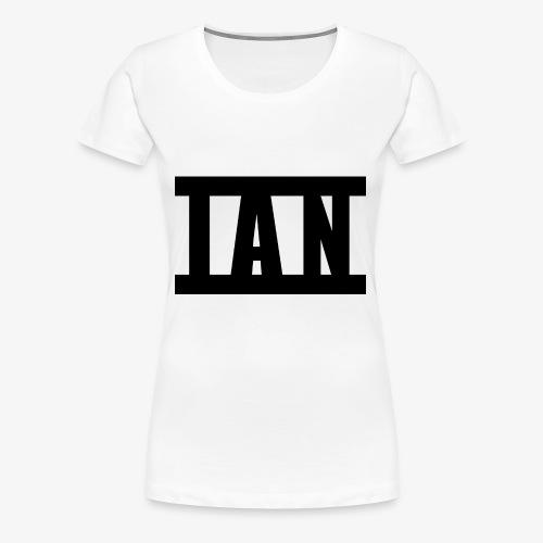 I A N Logo - Women's Premium T-Shirt