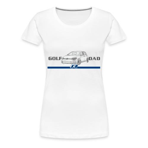GolfRDad Fast Logo - Women's Premium T-Shirt