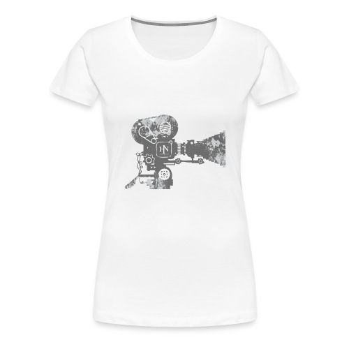 HNF_Camera - Women's Premium T-Shirt