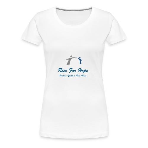 Rise for Hope - Women's Premium T-Shirt