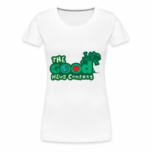 The GOOD News logo - Women's Premium T-Shirt