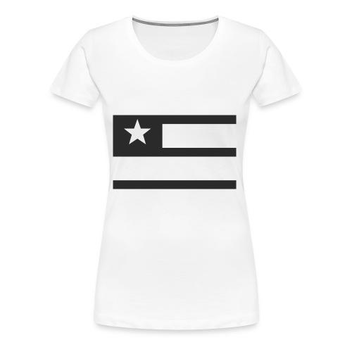 Liberty Flag - Women's Premium T-Shirt