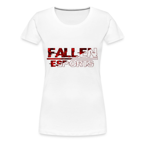 Fallen Esports Words Design - Women's Premium T-Shirt