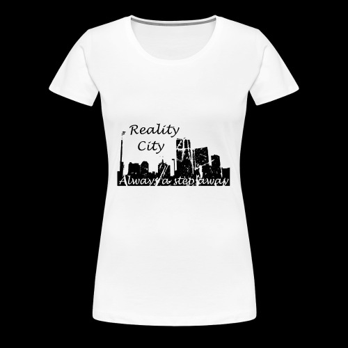 Reality City - light - Women's Premium T-Shirt