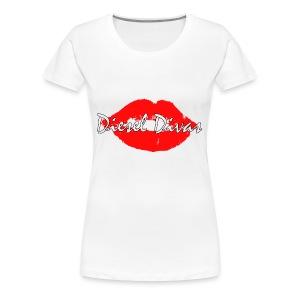 Hot red lips! - Women's Premium T-Shirt