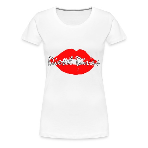 Hot red lips! - Women's Premium T-Shirt