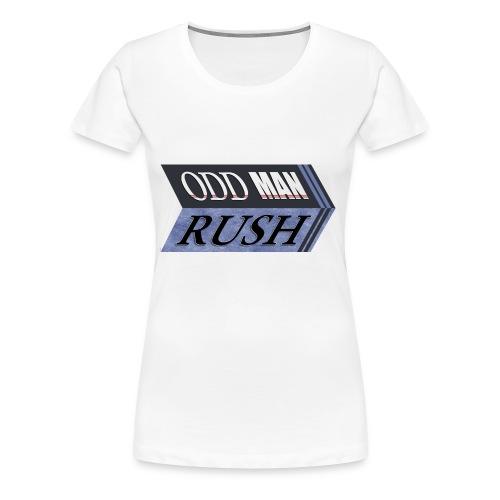 Odd Man Rush - Women's Premium T-Shirt