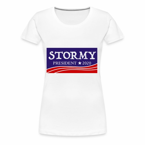 stormy for president 2020 - Women's Premium T-Shirt