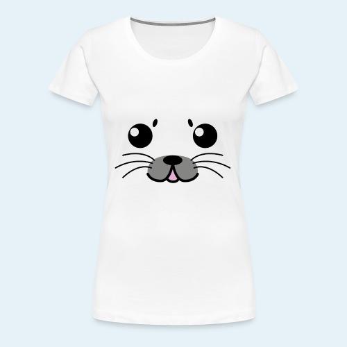 Baby seal (Puppies) - Women's Premium T-Shirt