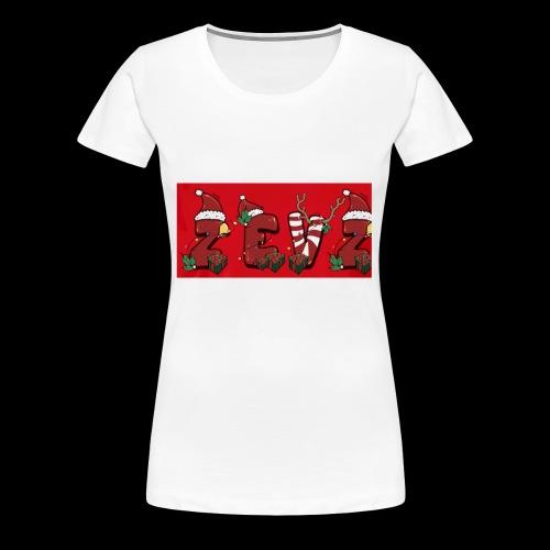 zevz chris mas merch - Women's Premium T-Shirt