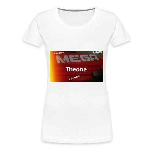 Nerf shirt - Women's Premium T-Shirt
