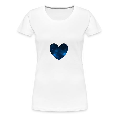 Galaxy Heart - Women's Premium T-Shirt