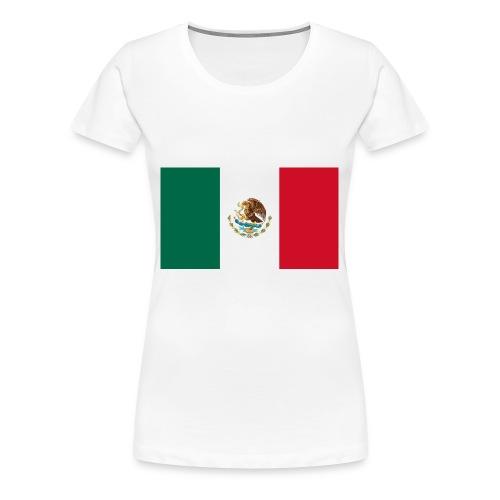 Mexican flag - Women's Premium T-Shirt