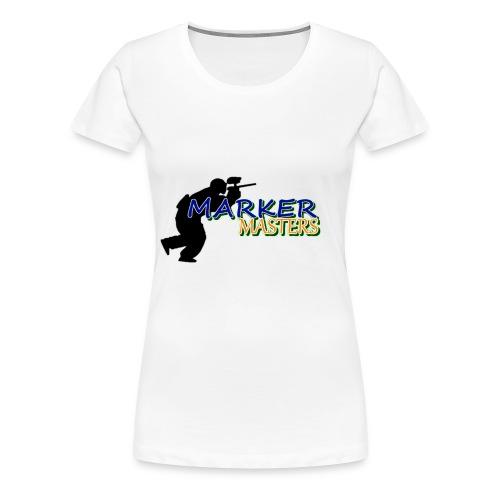 Marker Masters Logo - Women's Premium T-Shirt