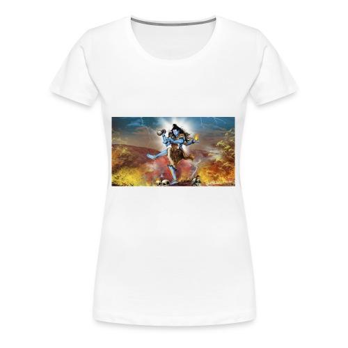 Lord Shiva Tandav - Women's Premium T-Shirt