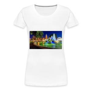 617816 jc nichols memorial fountain country club p - Women's Premium T-Shirt