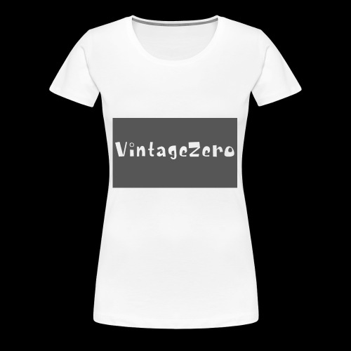 VintageZero - Women's Premium T-Shirt
