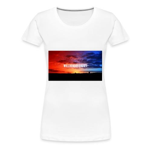 channel art youtube will hendry davies - Women's Premium T-Shirt
