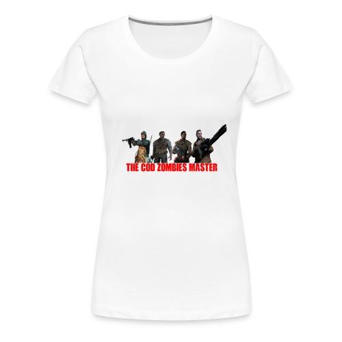 CodZombiesMasterMerch - Women's Premium T-Shirt