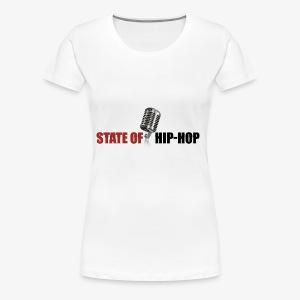 State of Hip-Hop - Women's Premium T-Shirt