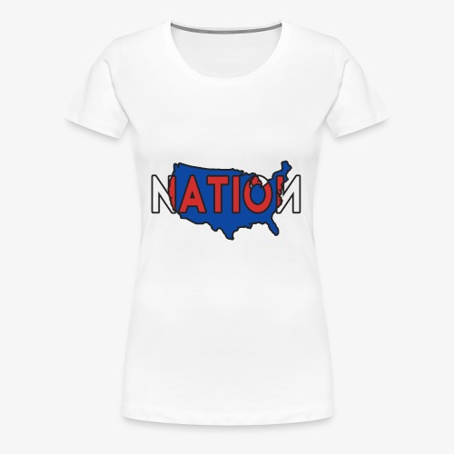 Superman NATION WORLDWIDE - Women's Premium T-Shirt