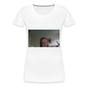 Kaitlin reacts merch - Women's Premium T-Shirt