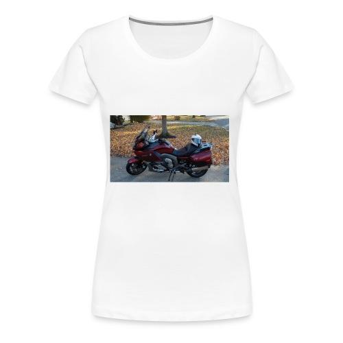 MOTO JUNKIE - Women's Premium T-Shirt