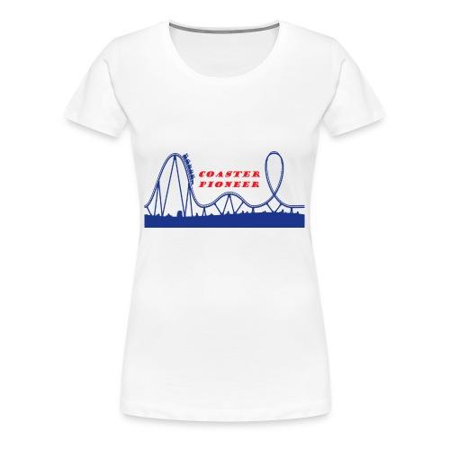 Coaster Pioneer Logo Merch - Women's Premium T-Shirt