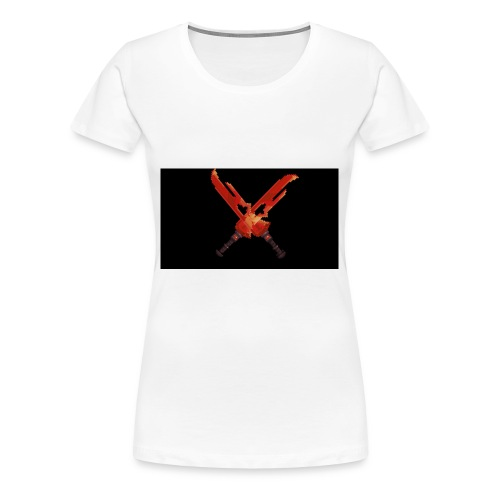 Hipixel Warlords Cross-Swords - Women's Premium T-Shirt