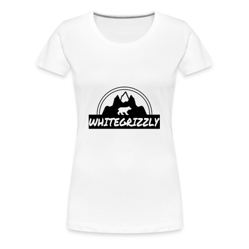 WHITEGRIZZLYCLOTHING - Women's Premium T-Shirt