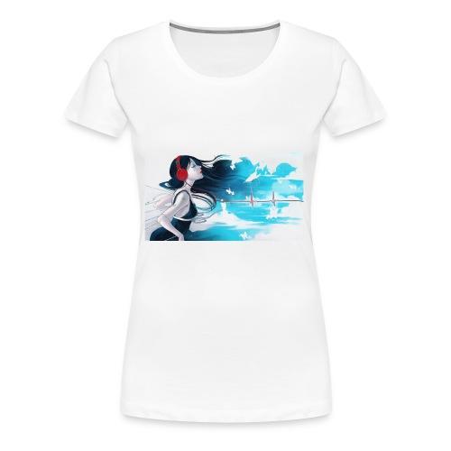 MusicGirl - Women's Premium T-Shirt