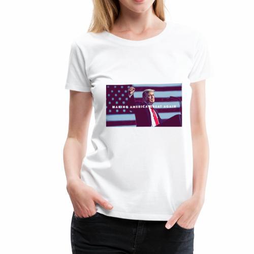 Trump MAGA - Women's Premium T-Shirt
