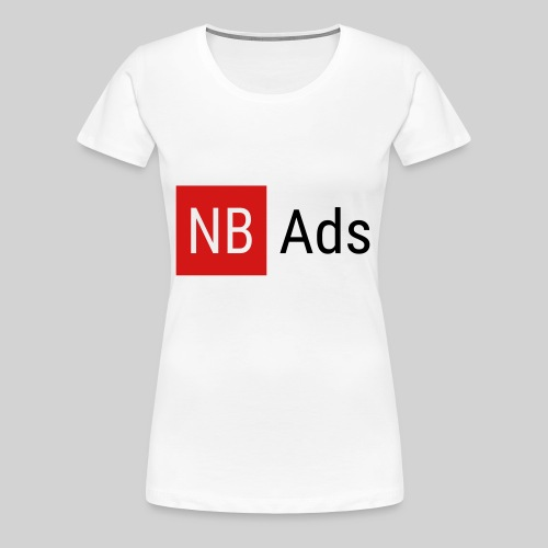 Nothing But Ads Logo - Women's Premium T-Shirt