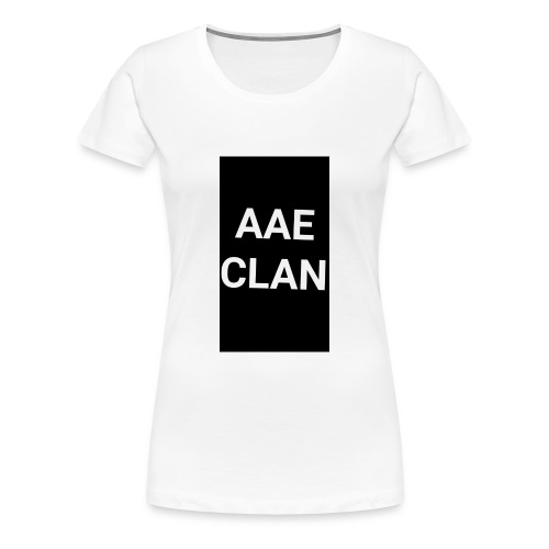 AAE CLAN MERCH - Women's Premium T-Shirt