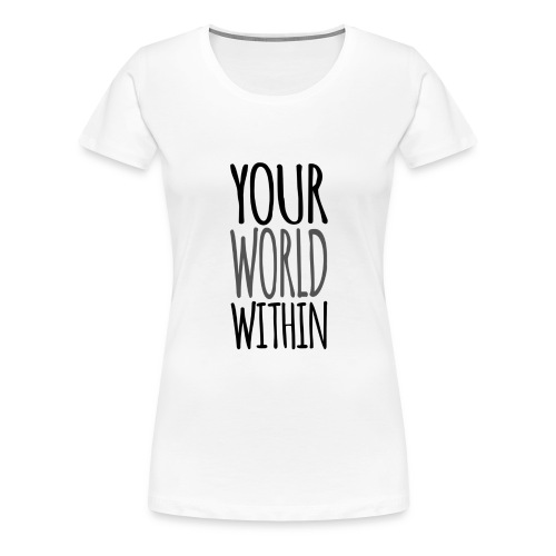 Handwritten Logo - Women's Premium T-Shirt